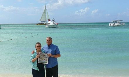 Ken and Marion Hoover in Aruba