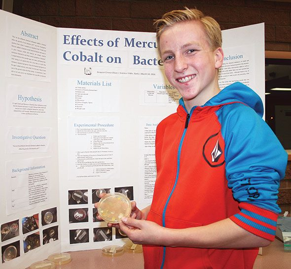 Science fair draws a crowd at school