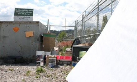 Invermere transfer station becoming a dump