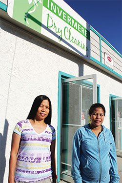 Cleaning pros taking over Invermere Dry Cleaners