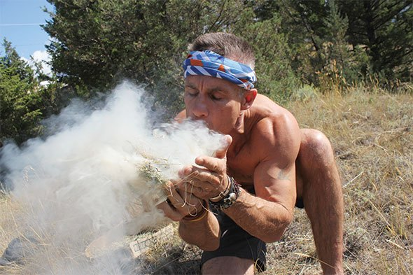 Back to the Stone Age for Spartan racer