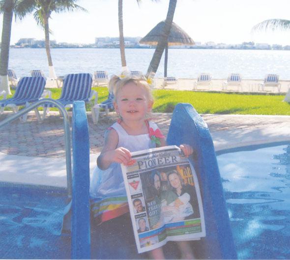 Cara Jaskela in Cancun, Mexico
