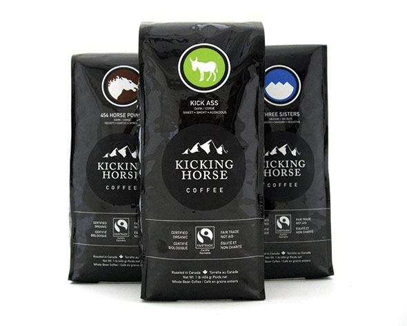 Kicking Horse Coffee takes second place in Fair Trade contest