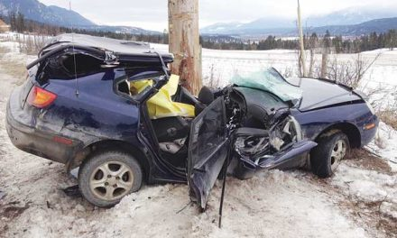 Teen survives crash, cautions drivers