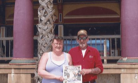 Doug and Sylvia Kelly in California