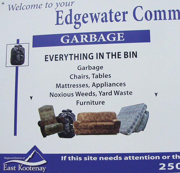 Muddy on garbage rules