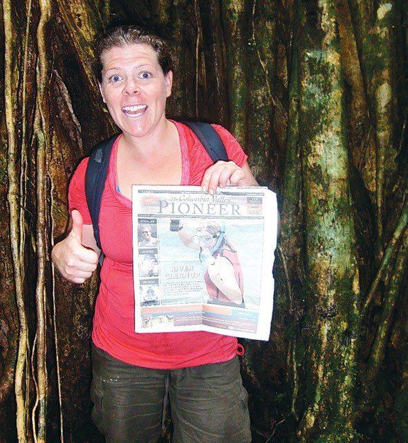 Lindsay Johnston in Valle De La Mina, Panama