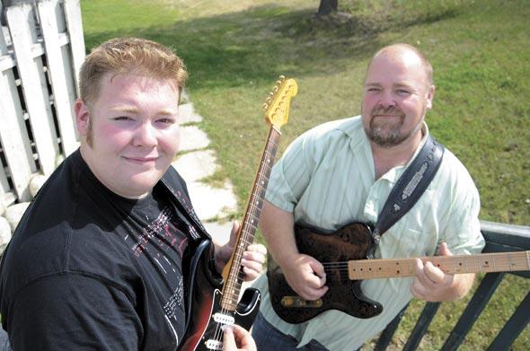Musicians strum success