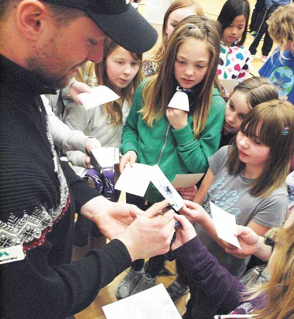 Laird students taught medal-worthy lesson