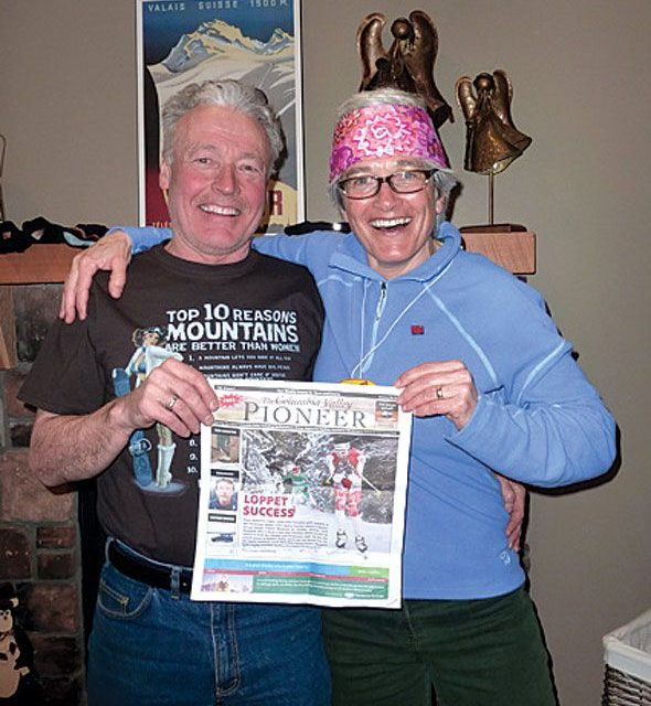 Lyle Wilson and Mary Ann Rombach at Silver Star Mountain Resort