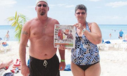Darren and Lois Ross in the Dominican Republic