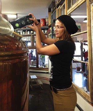 Arrowhead spikes beer with coffee