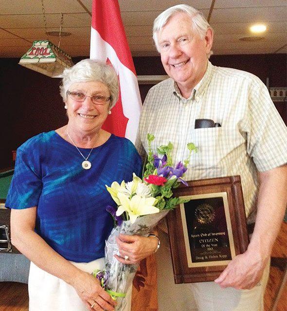 Kipp couple share Rotary Citizen of the Year