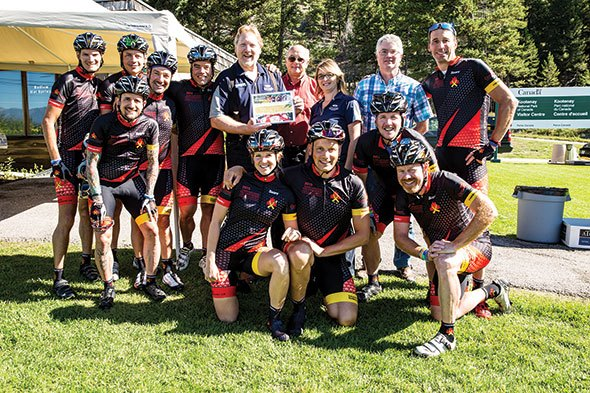 Cycling for kids with cancer