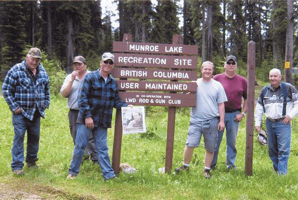 The Warbricks at Munroe Lake