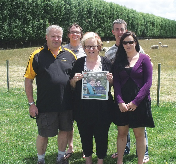 The Scofield Family in New Zealand