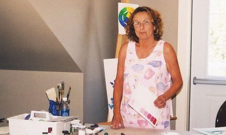 Sue Wells love of art  continues to be passed on