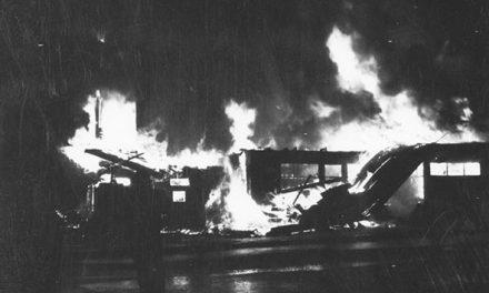 Windermere Valley landmark destroyed