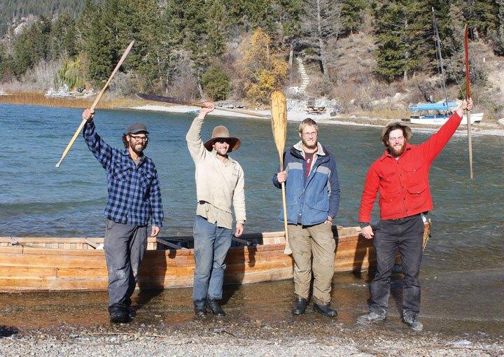 Paddlers make like Columbia River salmon