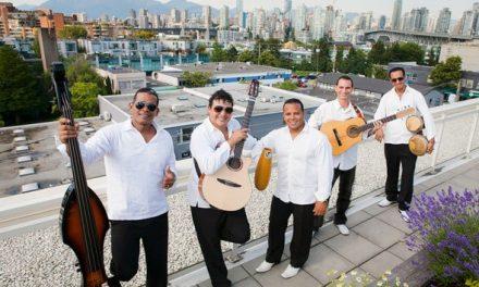 El Grupo Cubano on their 7th musical tour through B.C. and Alberta