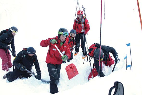 Search and Rescue stays sharp with avalanche training