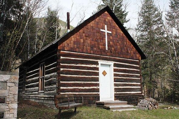 Close call for historic church