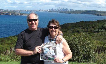 Scott and Elaine Wallace in Sydney Australia