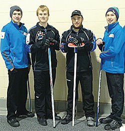 Local junior curlers eyeing B.C. championship