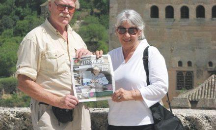 David and Marilyn Goldsmith in Granada, Spain