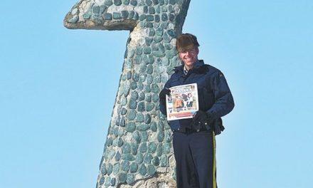 Constable Tim Harper in Whale Cove, Nunavut