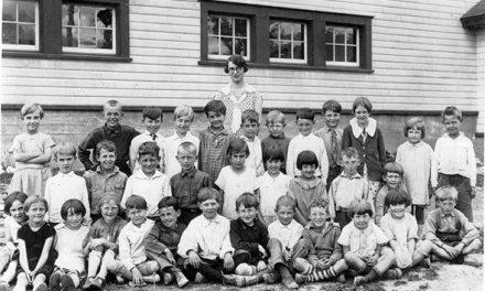 Invermere School students, 1928