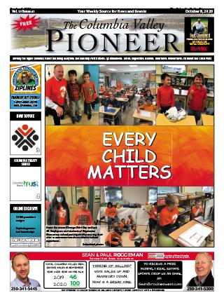 Columbia Valley Pioneer, October 8, 2020