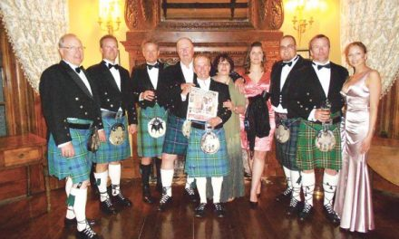 A group of Invermere travellers attended a wedding at Castle Leslie in Ireland