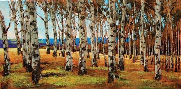 Famous landscape artists at Artym