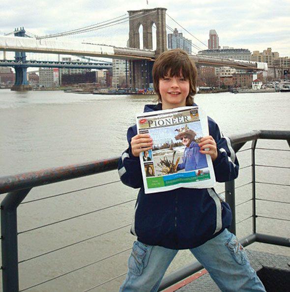 Nolan Watt in New York City