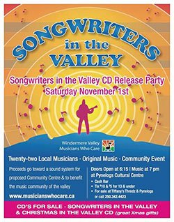 Valley songwriters  packing Pynelogs to party