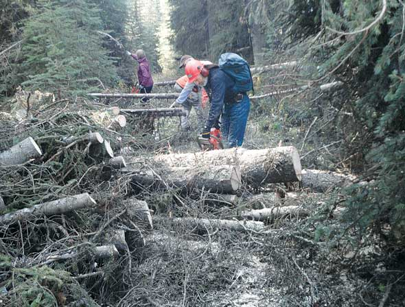 Local group keeps trails in top shape