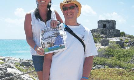 Mark and Kara Von Niessen in Mexico
