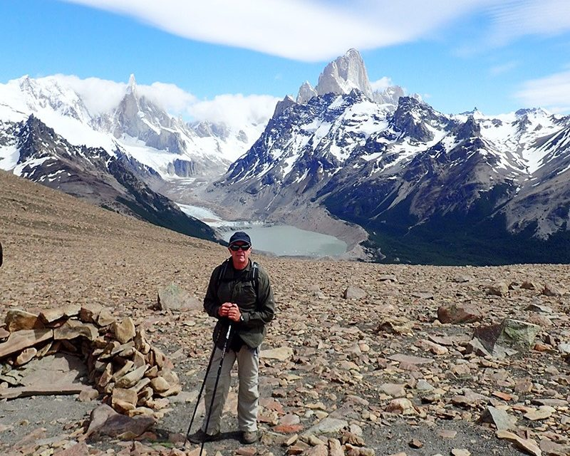 Columbia Valley trail maintenance group features Patagonia hiking presentation