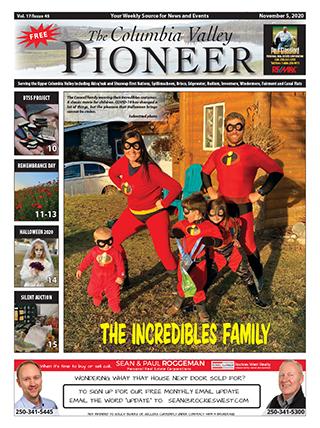 Columbia Valley Pioneer, November 5, 2020