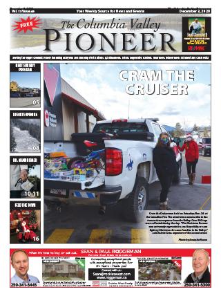 Columbia Valley Pioneer, December 3, 2020